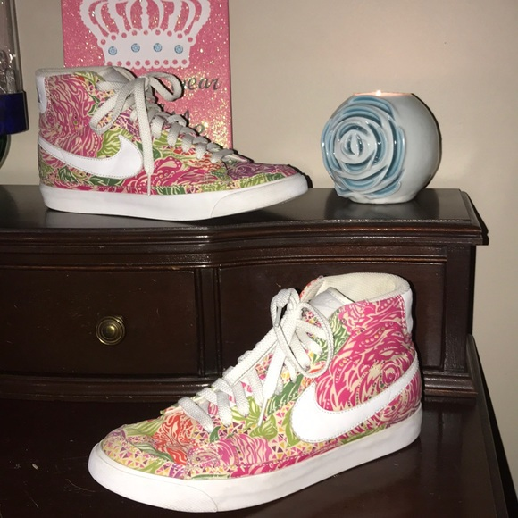 Nike Shoes | Nike Floral High Tops